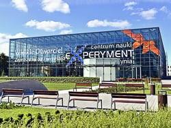 Experiment center in Gdynia