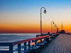 Boardwalk Molo in Sopot