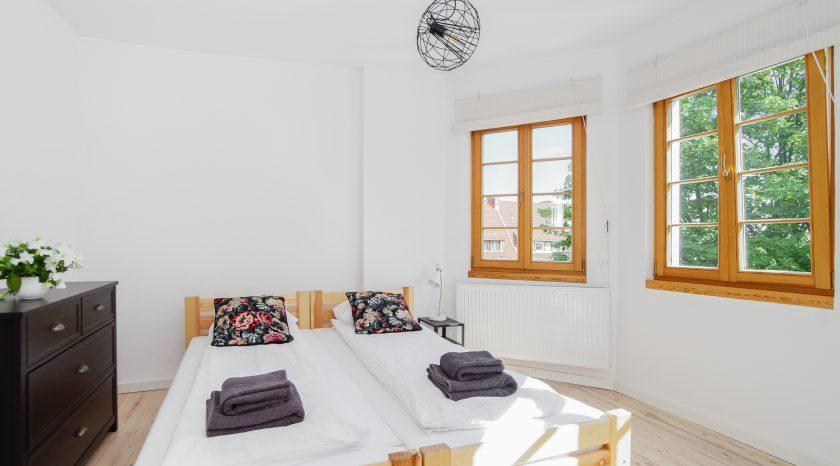 Sopotel Apartament - Sypialnia